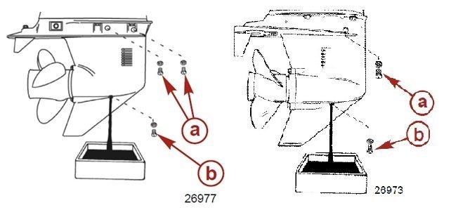 Объем масла в лодочных моторах Honda