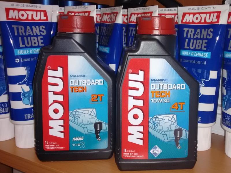 Объем масла в двухтактных лодочных моторах Tohatsu