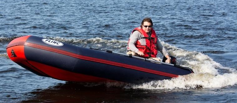 Упаковочные размеры лодок Flinc