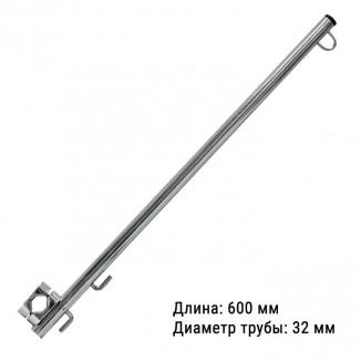 030411T. Флагшток 600 мм.(хомут 30-35 мм.)