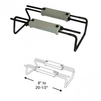 1104010-NS. Основание для крепления сидений на рундук, банку