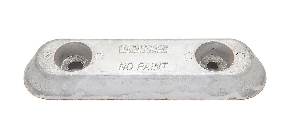 ALU25C. Анод алюминиевый, тип25 без крепления ALU25C