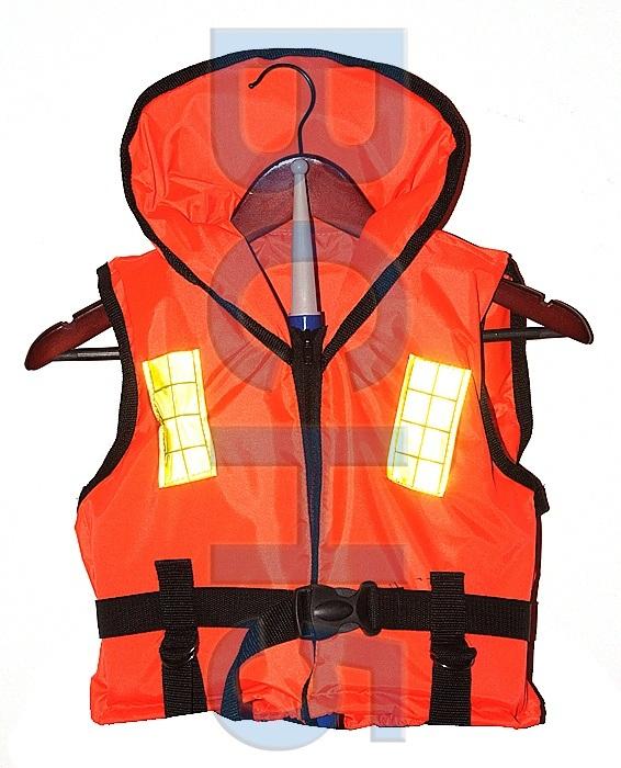 ШТ40. Жилет спасательный Штурман оранж. 40 кг.