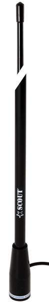 KS-115Black. Антенна стекловолок. AM-FM 1,5м черная KS-115Black