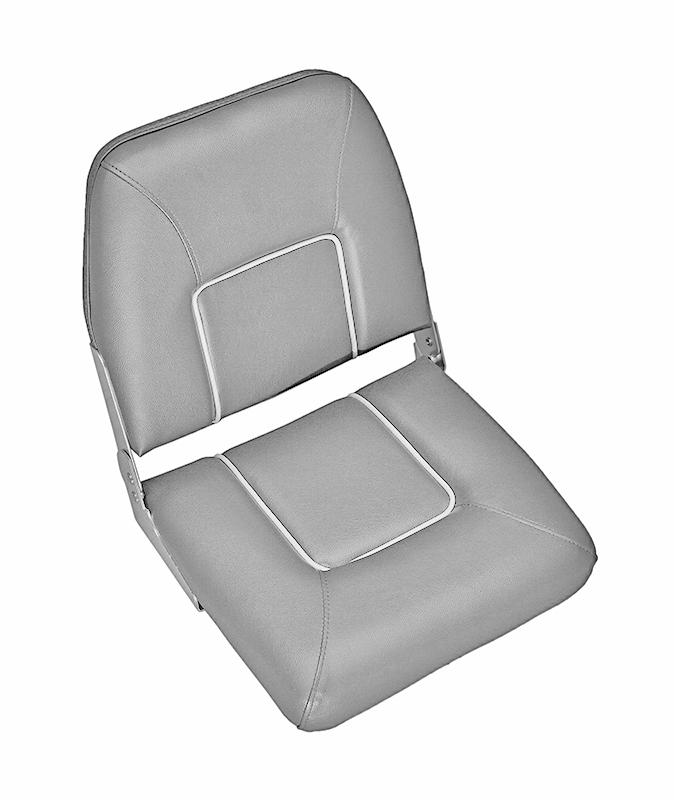 CHFSD. Сиденье раскладное серое с белыми швами CHFSD
