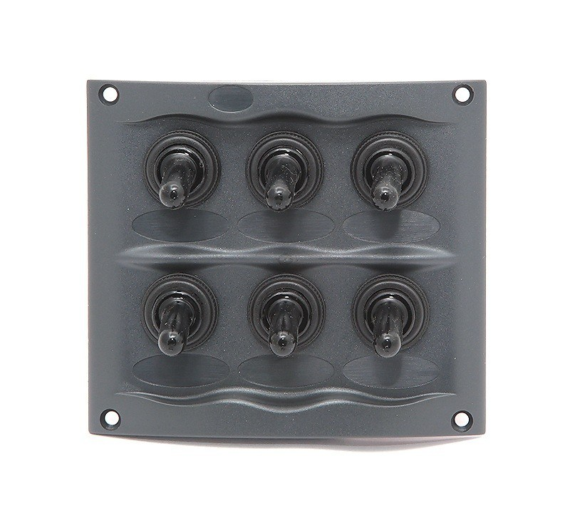 900-6WP. Панель переключателей 6-позиционная 900-6WP