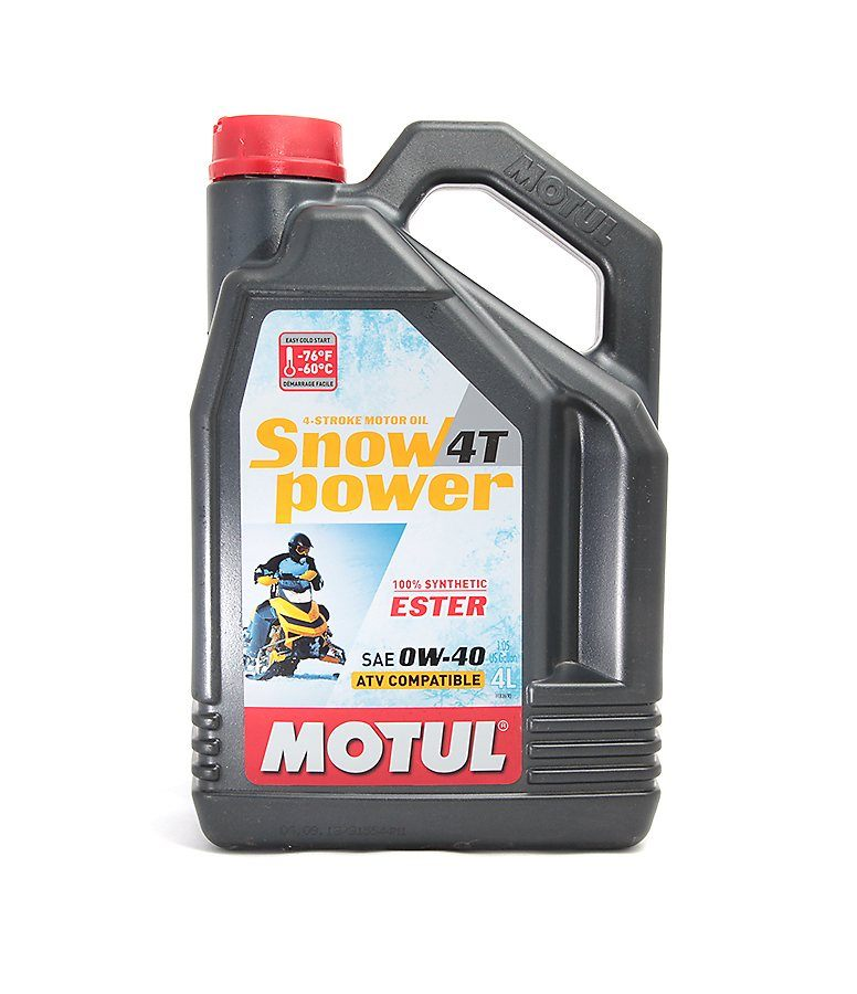 101231. Масло Motul Snow Power 4х такт.0W40 (4л) дл 101231