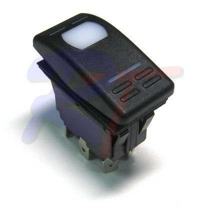 RTA-10123-02. Выключатель 2 позиционный вкл-выкл, 1 - полюсной