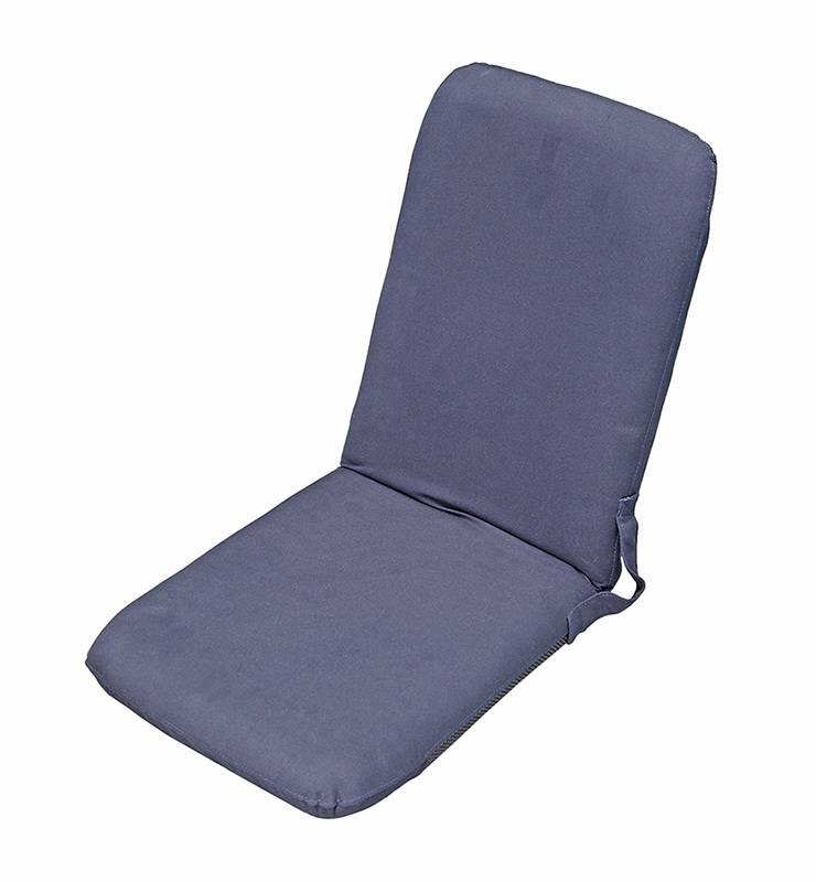 1007002. Сиденье складное мягкое синее 1007002