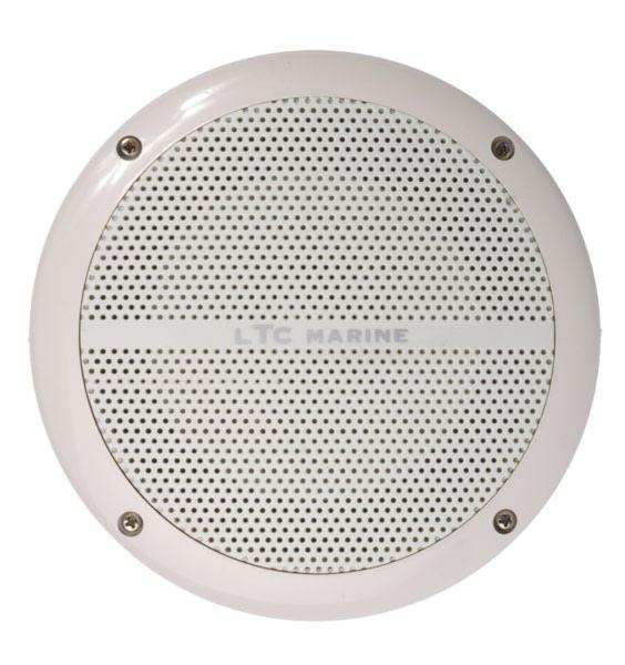 9514600965.  Аудиоколонки врезные 165 мм белые 100W 2-полосные LTC 9514600965
