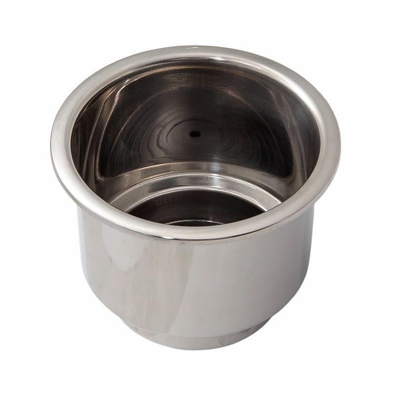 C11675. Держатель емкости 76 мм, нерж.сталь C11675