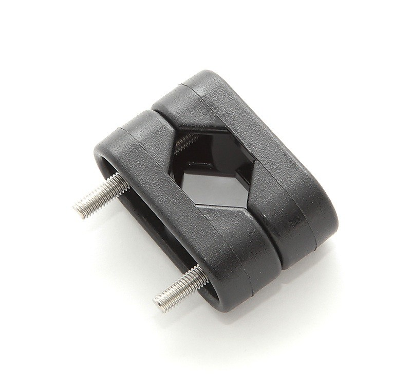 1109/D. Хомут универсальный 22-25 мм, пластмасса 1109/D