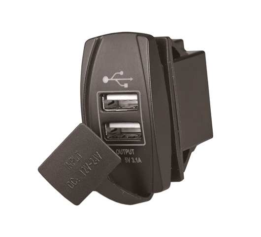 RTA-10120. Выключатель +USB RTA-10120