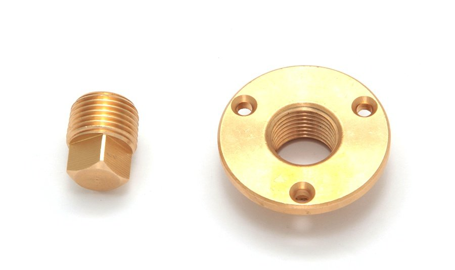 C12880. Дренажный клапан с резьбой C12880