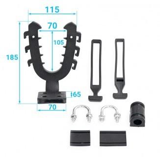 33-20-022-L. 33-20-022-L Крепление-рогатка (большое, изогнутое основание)