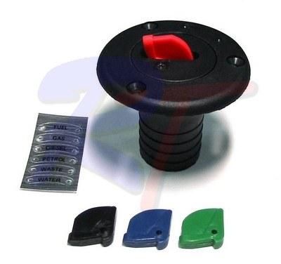 RTA-40006-01. Заливная горловина 38мм, черная RTA-40006-01
