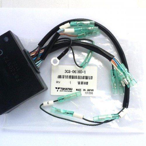 3C8-06160-1. Блок зажигания (CDI) / C.D. Unit