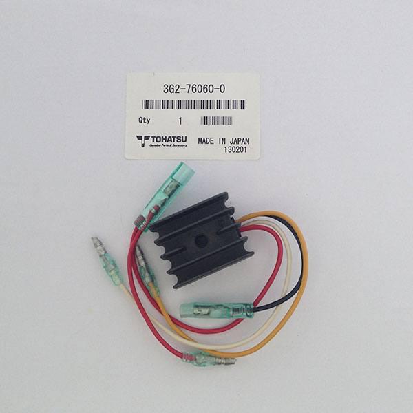3G2-76060-0.  Реле регулятор, выпрямитель