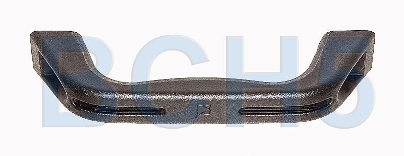 9511012012. Ручка 170х28х44мм нейлон черный 9511012012