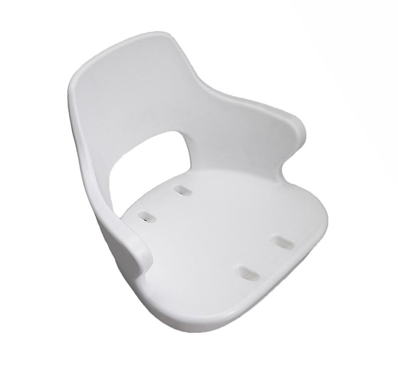 Сиденье YACHTSMAN 2 пластиковое белое 1060410-S
