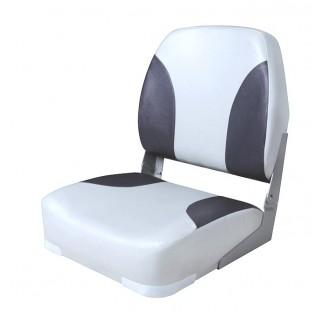 75102GC. Сиденье мягкое складное Classic Low Back Seat, серо-черное