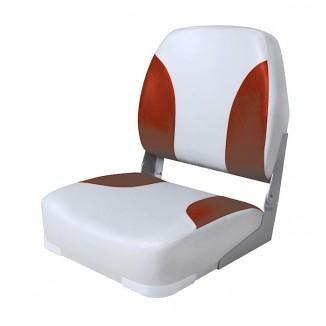 75102GR. Сиденье мягкое складное Classic Low Back Seat, серо-красное