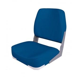 75103B. Сиденье мягкое складное Economy Low Back Seat, синее 75103B