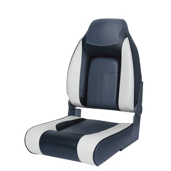 75157GCB. Сиденье мягкое складное Premium Designer High Back Seat, серо-чёрное