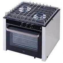 9515008560. Газовая плита двухконфорочная с духовкой CAN CU2000 30 л