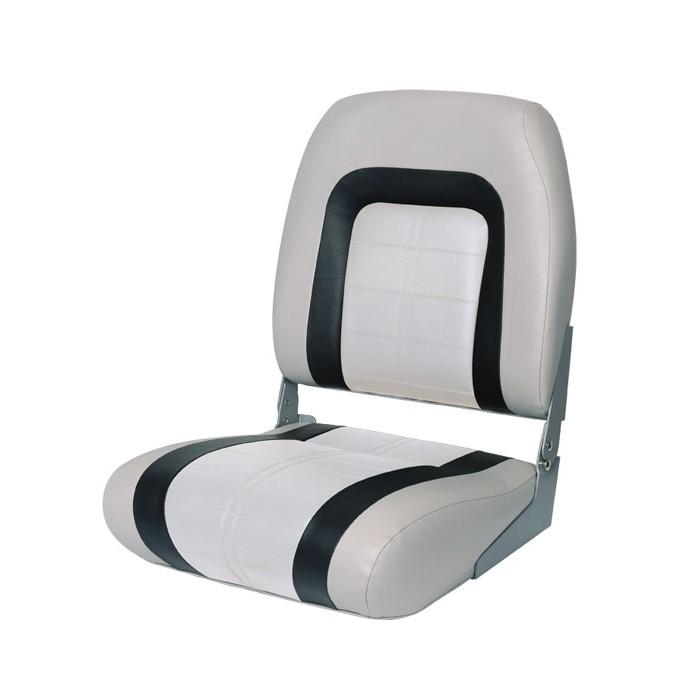 76236GCW. Сиденье мягкое Special High Back Seat, черно-серое