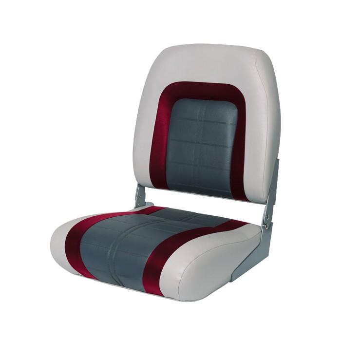 76236GRC. Сиденье мягкое Special High Back Seat, серо-чёрное