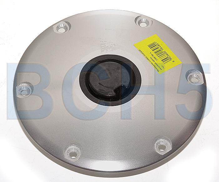 3300750-A. Основание стойки врезное алюминий 230 мм