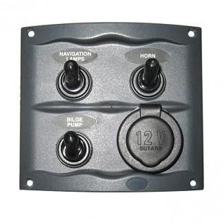 900-3WPS. Панель 3-позиционная со штепселем 900-3WPS