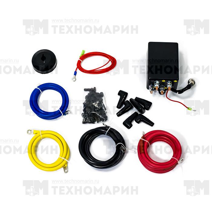 AC-12025. Лебедка для квадроцикла 3500 LBS Black Edition