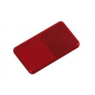 C91051R. Отражатель прямоугольный красный