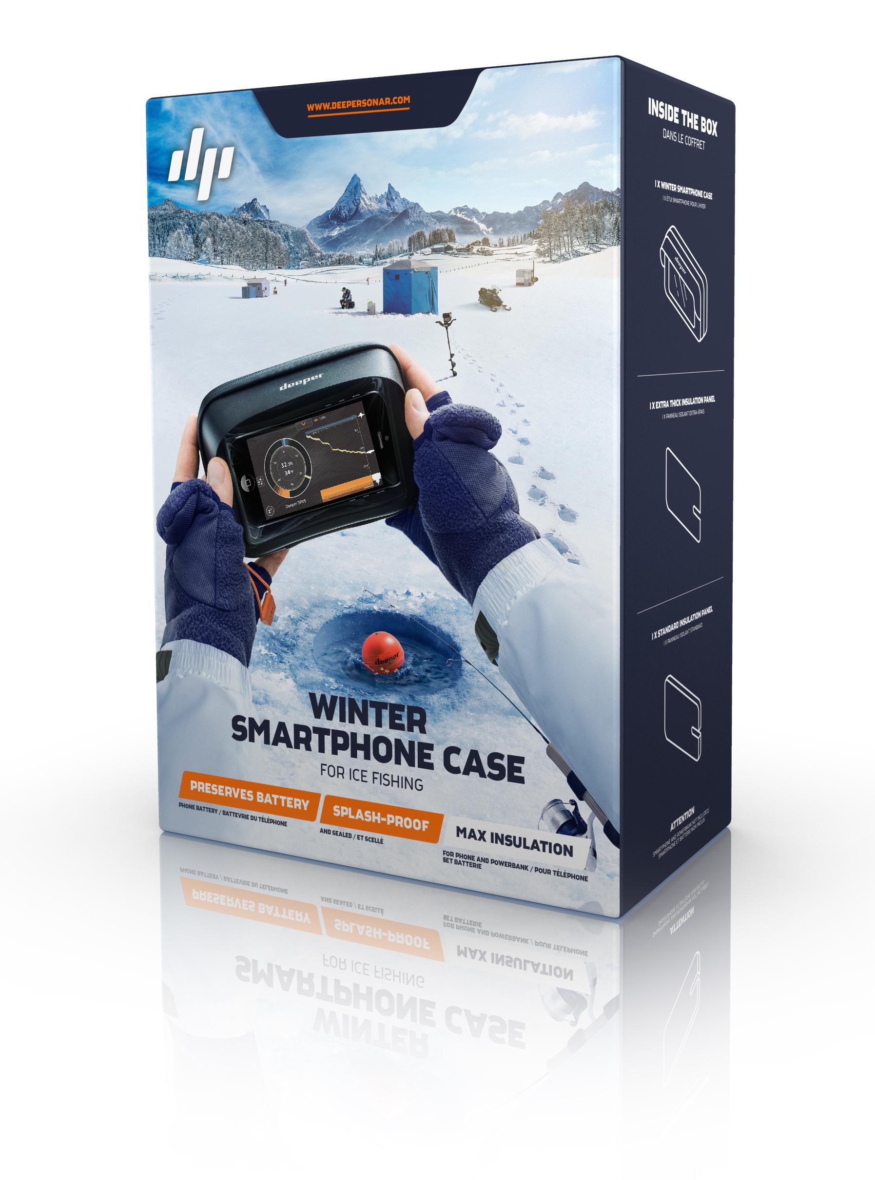 DPR-CASE. Зимний чехол Deeper для смартфона малый