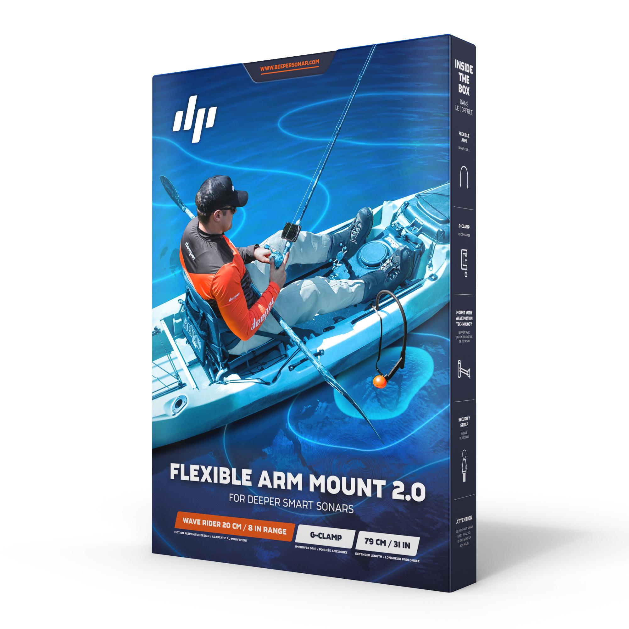 DPR-FLEXIBLEARM2.0. Крепление для лодки Deeper Flexible Arm 2.0