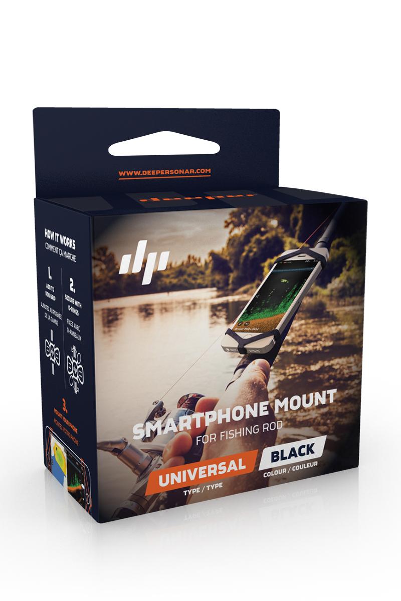 DPR-PHONEHOLDER. Держатель смартфона на удилище Deeper Phone Holder