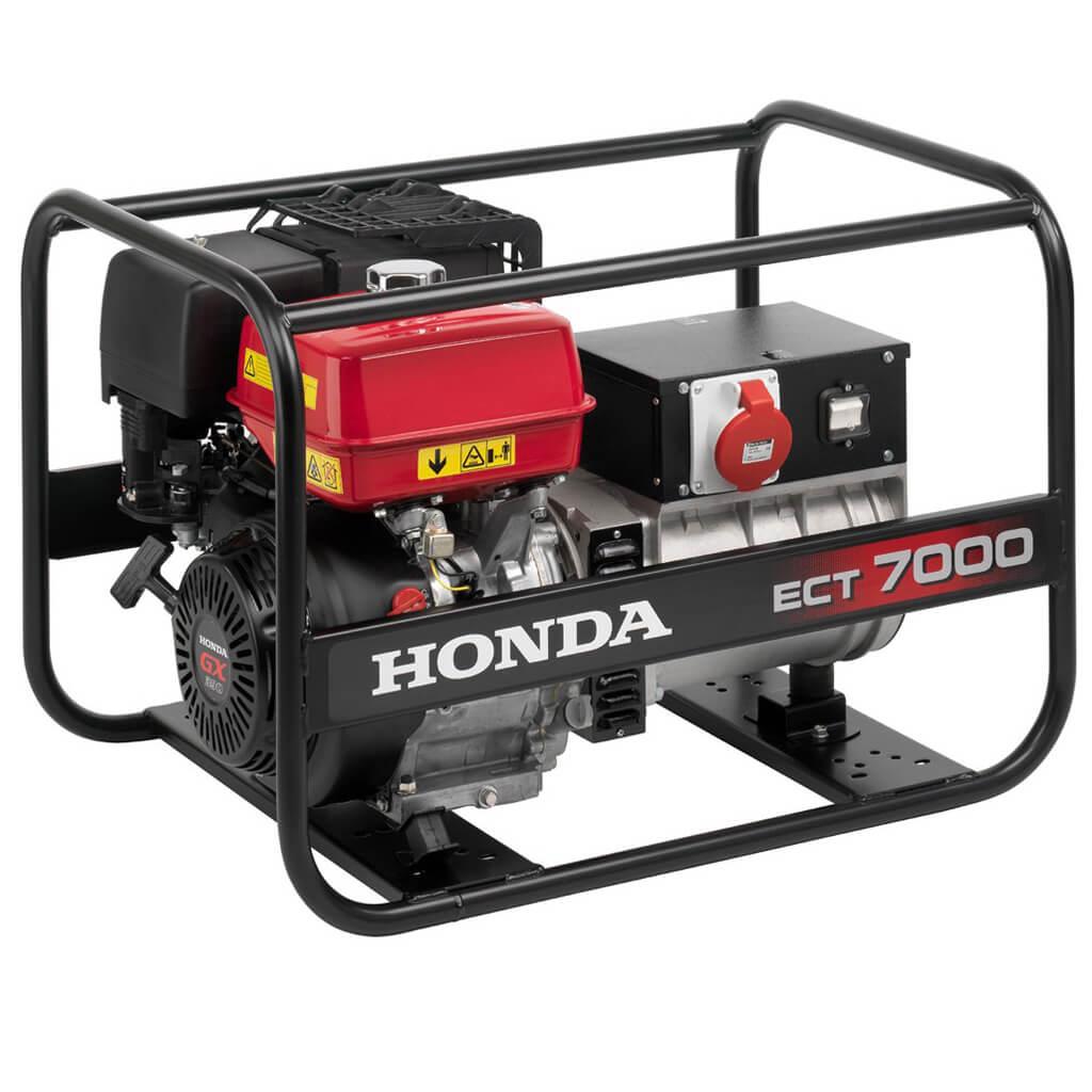 ECT7000K1RG. Генератор бензиновый Honda ECT 7000 K1