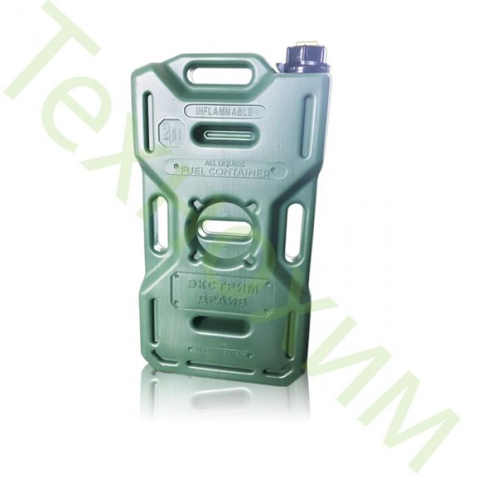 ED-0100-G. Канистра Экстрим-Драйв 7,8 л зеленая (хаки)