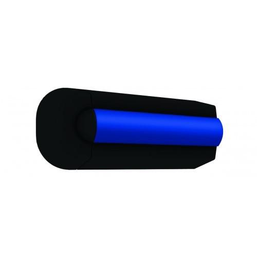 EPOLY35B. Заглушки защитные 2шт. черные д/профиля EPOLY35B