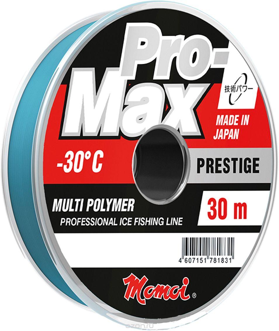 F-10804. Леска зимняя Momoi Pro-Max Prestige 0,117 мм, 1,5 кг 30 м