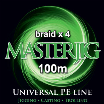 F-20205. Шнур PE Mystic Master Jig 100 м. 0.15мм, 7,6 кг