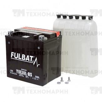 FIX30L-BS. Аккумулятор для мотоцикла, квадроцикла, снегохода, гидроцикла 30 Ач