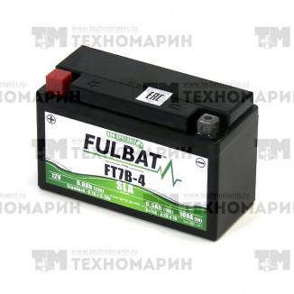 FT7B-4. Аккумулятор для мотоцикла 6.5 Ач