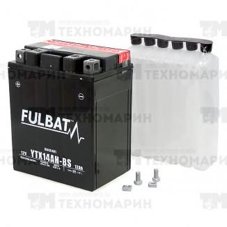 FTX14AH-BS. Аккумулятор для квадроцикла, снегохода 12 Ач