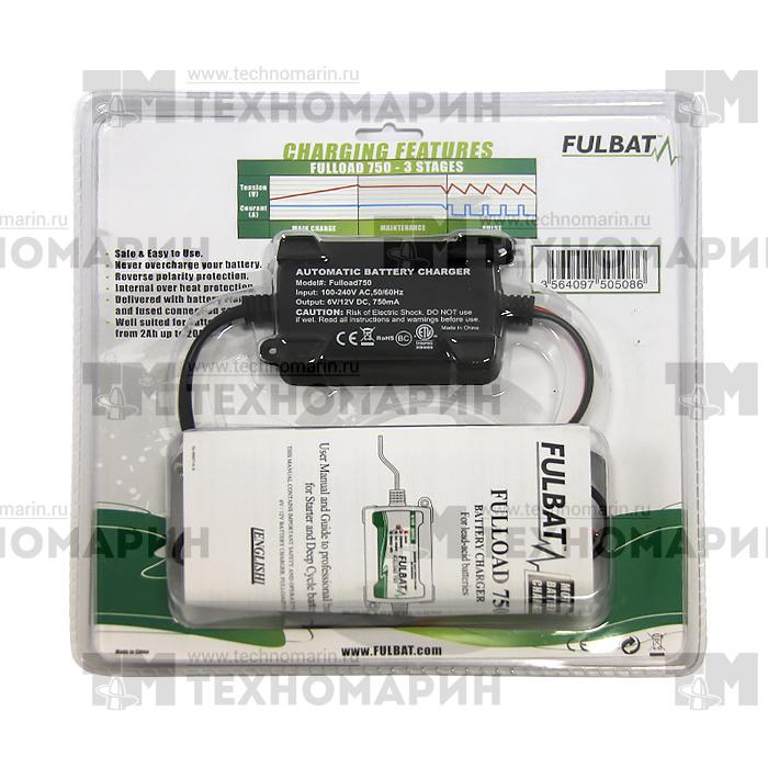 FULLOAD750. Зарядное устройство для аккумулятора 6/12 Вольт