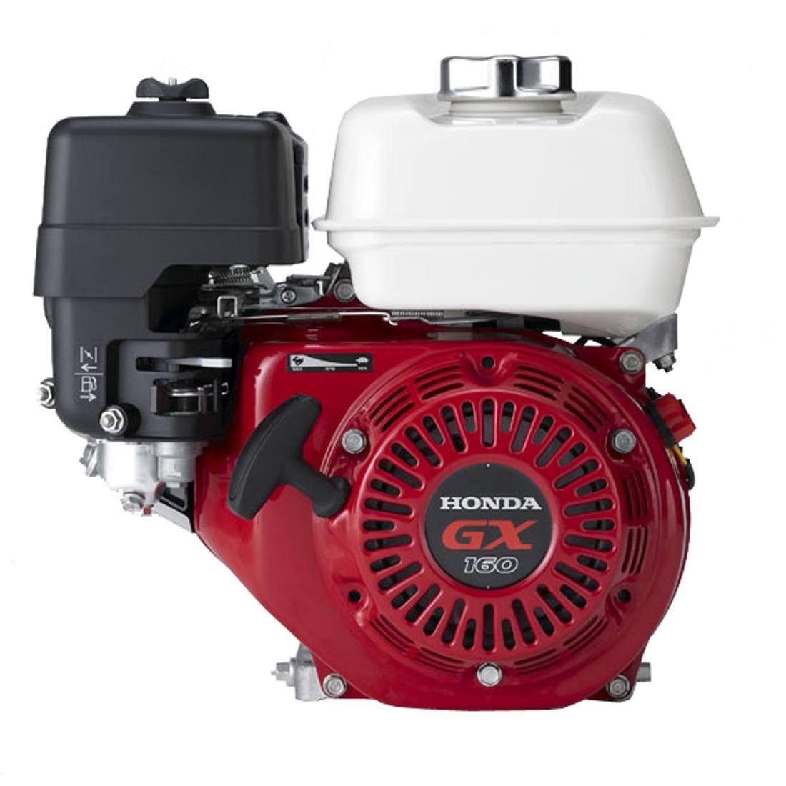 GX160UT2-LX4. Двигатель бензиновый Honda GX 160 LX4