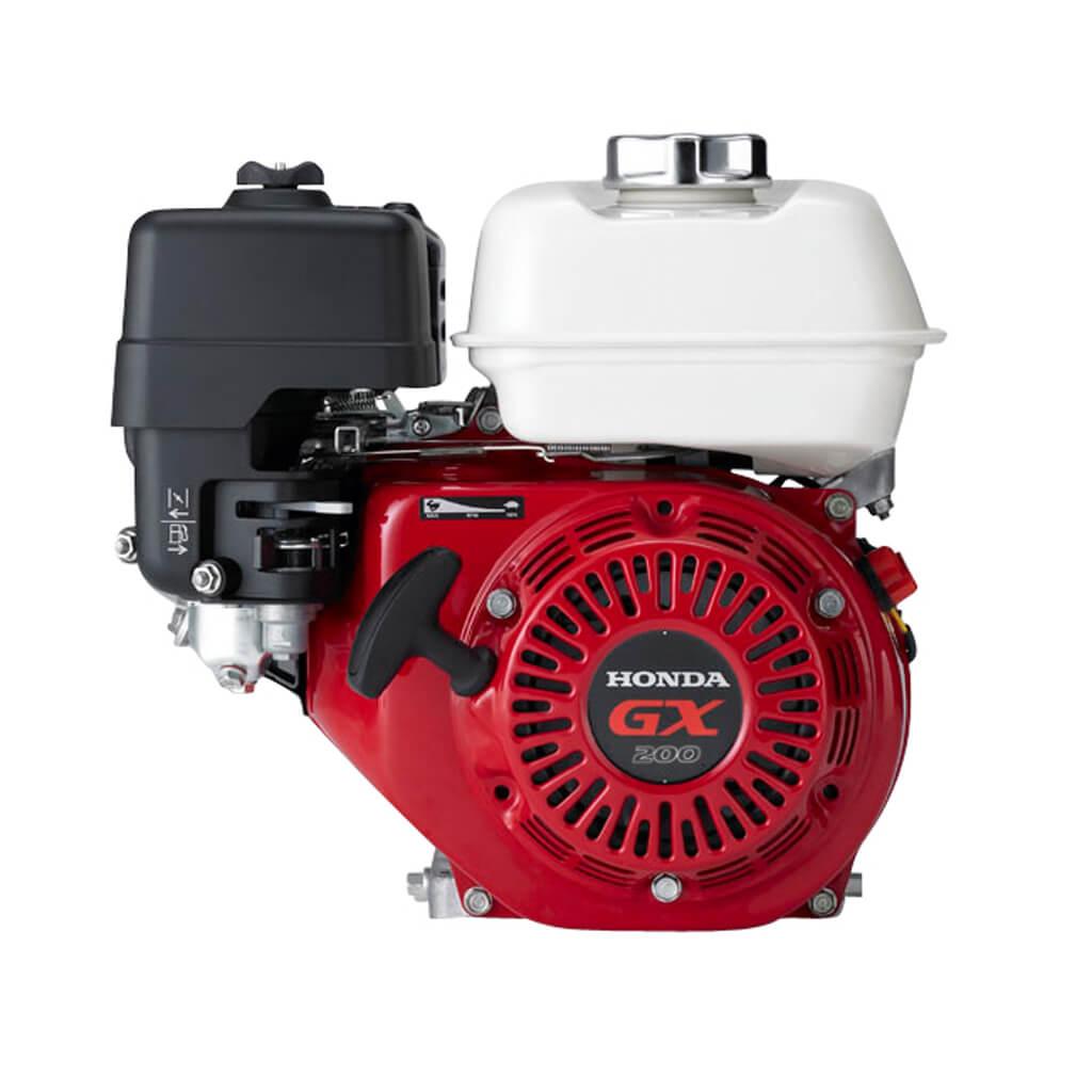 GX200H-QX3. Двигатель бензиновый Honda GX 200 QX3