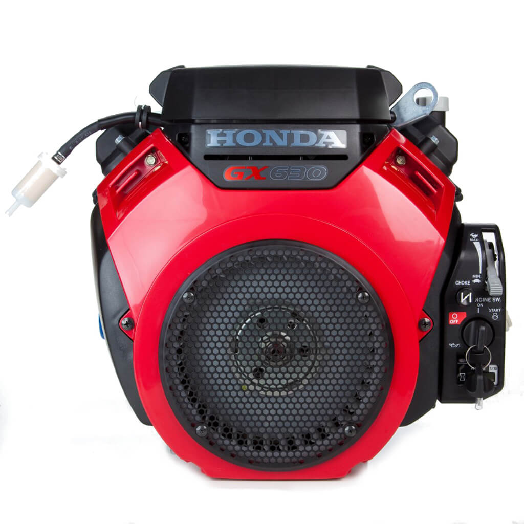 GX630RH-QZE4. Двигатель бензиновый Honda GX 630 QZE4